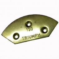 Triumph Boulevard Brass Toe Plates