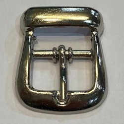Silver Buckle 15mm