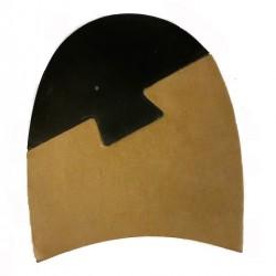 JR Rendenbach Leather Heels 5mm