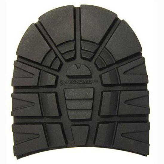 Dunlop Winter Grip Rubber Heels Size 8mm Black