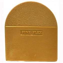 PVC Fine Flex Natural Heels