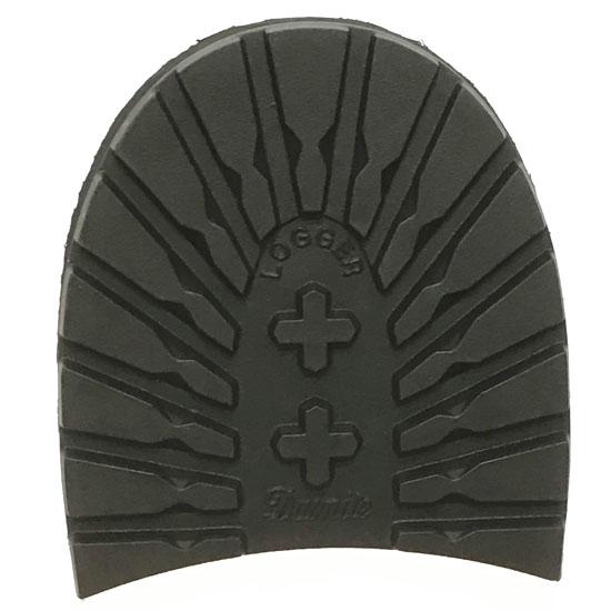 Dainite Logger Rubber Heels Black