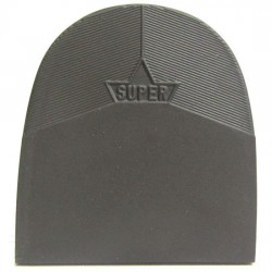 Super Ponse Gents Rubber Heels Sepia