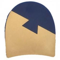 Thomas Martin Blue 1/4 Rubber Heels 3 1/2 Dove Tail