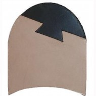 Wares Leather 1/4 Rubbers Heels