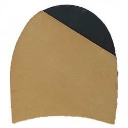 Leather Quarter Rubber Heels