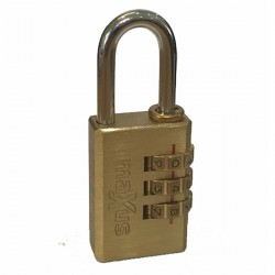 Maxus Combination Padlock 20mm