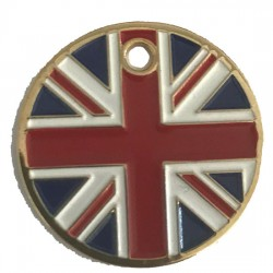 Pet Discs Union Jack 25mm
