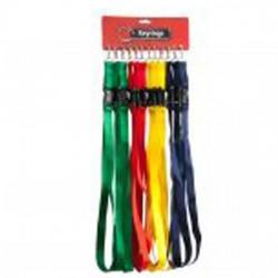 Lanyard Key Rings Coloured