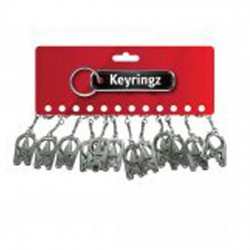 325 Folding Scissors Key Rings