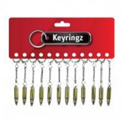 Bullet Key Rings