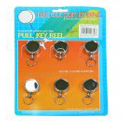 Retractable Key Rings Small