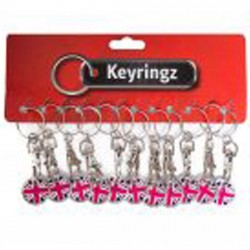 617 Trolley Coin Key Rings Great Britain
