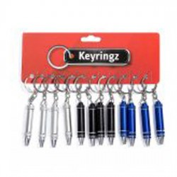 Mini Screwdriver Pen Key Rings