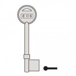 GL052 E*S Eurospec key blank