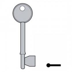GL064 Kb036 M109 Morgan key blank