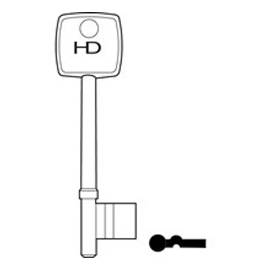 L109 B556/A Fleet key blank