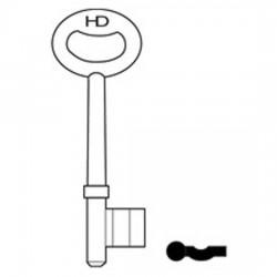 L82 B439/2 Union key blank