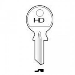 H011 HU3 Huwil key blank