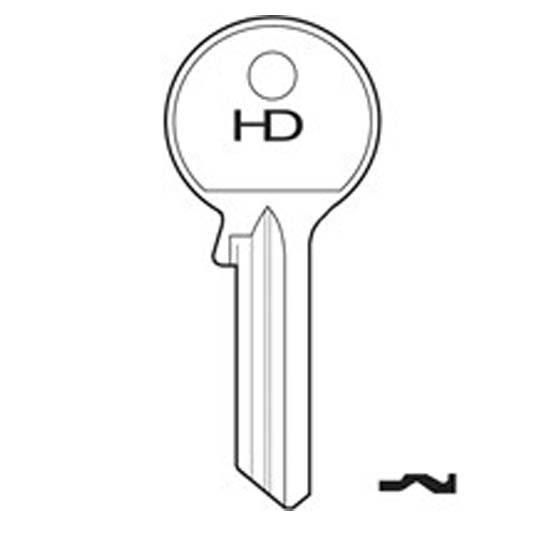H037 20A Atlas key blank