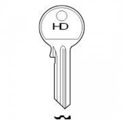 H057 62GE GEGE key blank