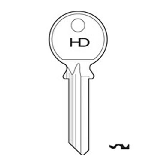 H066 80N Stalock key blank