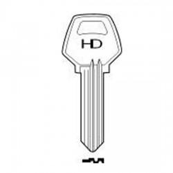 H009 U007 Lane key blank