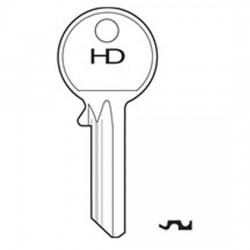 H0001 1A Yale key blank