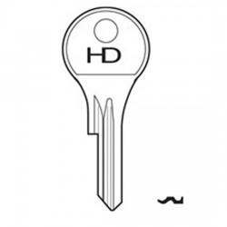 H139 DM10 Dom key blank