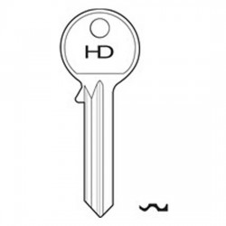 H590 UL2 Universal key blank