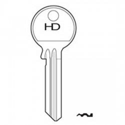 H608 EV6L Evva key blank