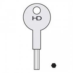 WL006 8K101K Chubb Window Keys