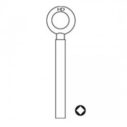WL009 8013K Chubb Window Keys