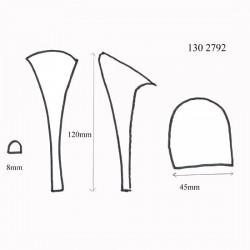 Stiletto Heel Blocks 130 2792