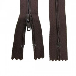 Zips Brown Nylon