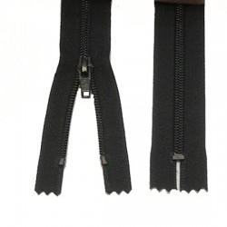 Zips Black Nylon