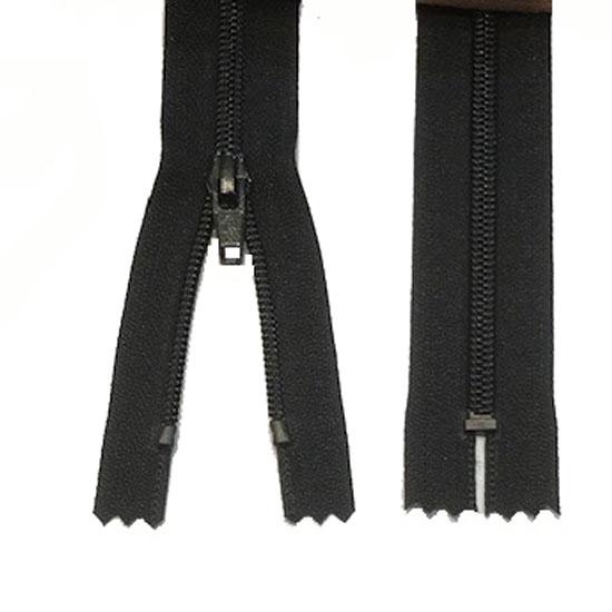 Zips Black Nylon