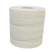 6 Cord Waxed Thread White