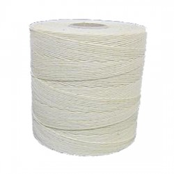 6 Cord Waxed Thread White