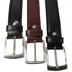 Leather Trouser & Jeans Belts Brown