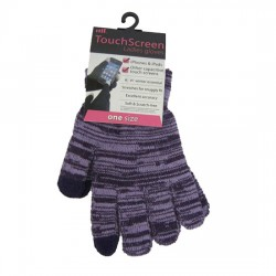Wooly Phone Gloves Ladies