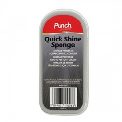 Punch Quick Shoe Shine Sponge 50ml