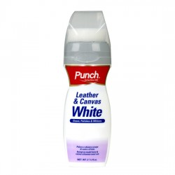 Punch Leather & Canvas White 75ml