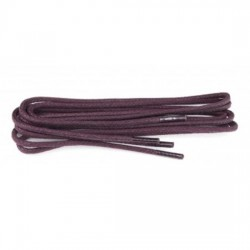 75cm Waxed Bordeaux Laces