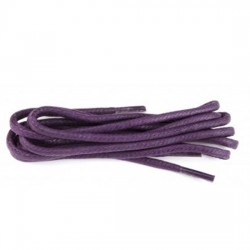 75cm Waxed Purple Laces