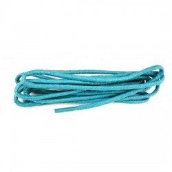 75cm Waxed Turquoise Laces