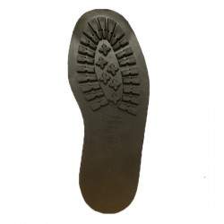 Goodyear Stitch-On Commando Soles Brown