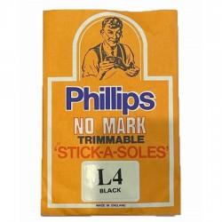 Original Phillips No Mark Stick On Soles L4 Ladies
