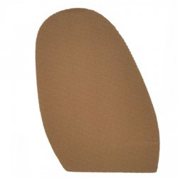Spotty Mesh Stick On Soles 1.8mm Natural