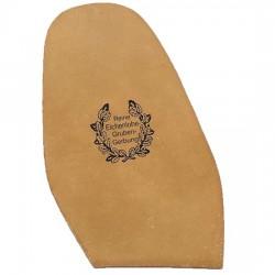 Oak Bark Leather Soles Ladies Size 3 2.5mm